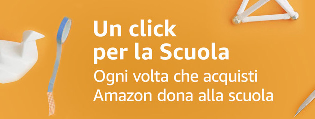 un click per la Rossello con Amazon