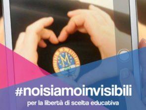 Diamo voce alle Scuole Paritarie #noisiamoinvisibiliperquestogoverno