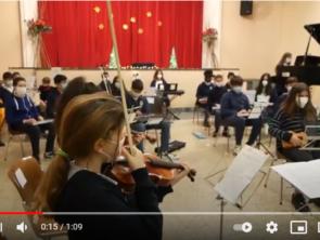 L'orchestra della scuola